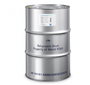 MERCK 104379 n-Heptane for analysis EMSURE® Reag. Ph Eur. CAS 142-82-5, EC Number 205-563-8, chemical formula CH₃(CH₂)₅CH₃. 190 L